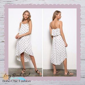 Polka Dot Tulip Dress